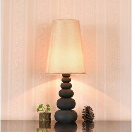 Valott Tafellamp Modern Bruine Kap 52 cm - Valott Sinappi