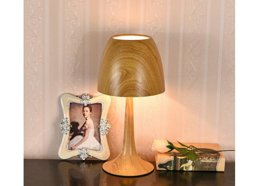 Tafellamp Modern Brons 42 cm - Valott Artisokka