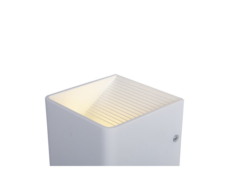 Wandlamp LED Design Wit Kubus - Scaldare Olona