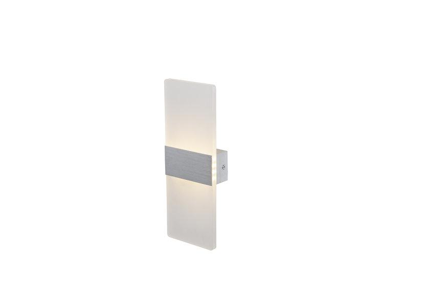 Wandlamp LED Design Zilver Rechthoek - Scaldare Piano
