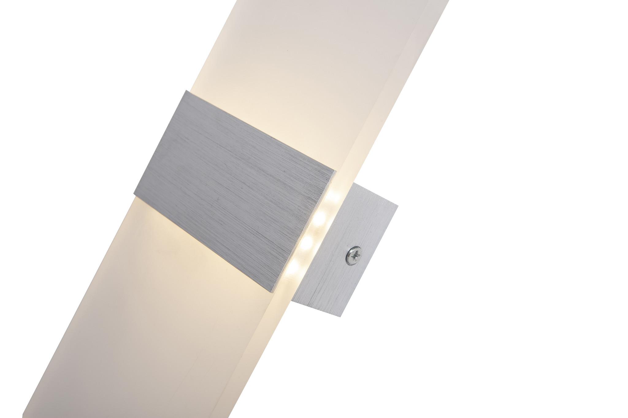 Scaldare Wandlamp LED Design Zilver Rechthoek Scaldare Piano