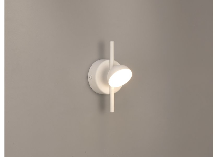 Wandlamp LED Modern Wit Rond - Scaldare Faeto