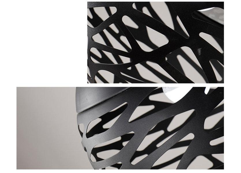 Hanglamp Design Zwart Rond Metaal - Scaldare Vadena