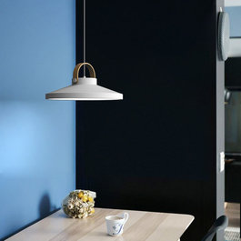 Scaldare Hanglamp LED Modern Wit Rond Groot 37 cm - Scaldare Grado