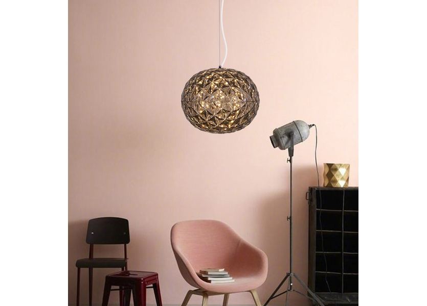 Hanglamp LED Modern Grijs Rond - Scaldare Gardolo