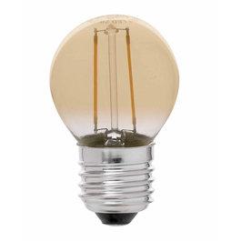 Crius Crius LED Filament G45 E27 2W 827 Amber Dimbaar