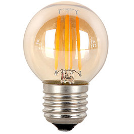 Crius Crius LED Filament G45 E27 4W 827 Amber Dimbaar