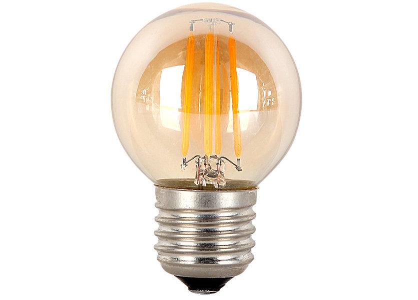 Crius LED Filament G45 E27 6W 827 Amber Dimbaar