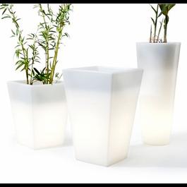 Funnylights Oplaadbare Bloempot 76 cm LED RGB inclusief Afstandsbediening - Funnylights Gyarados Tuinlamp