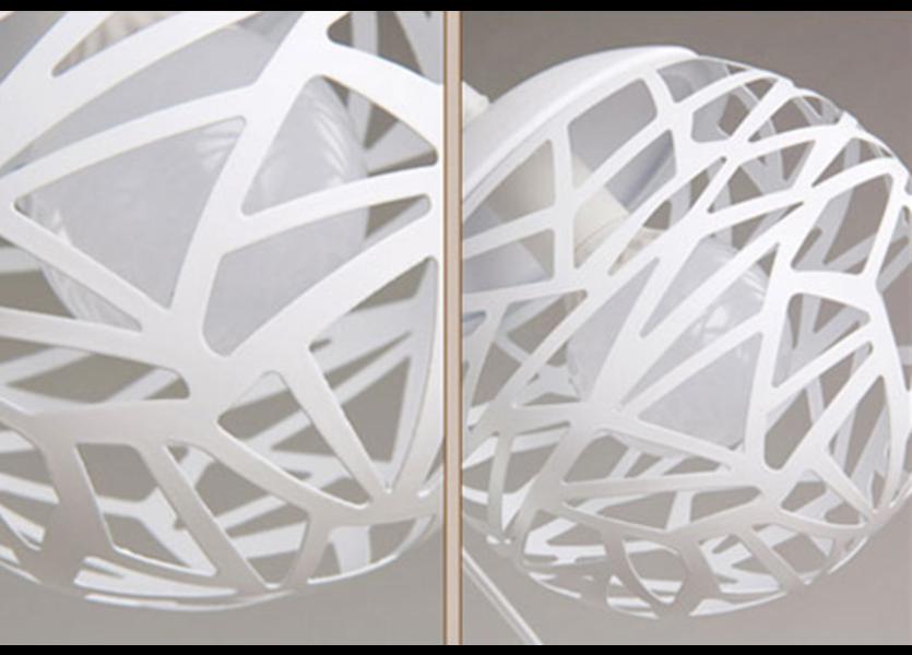 Hanglamp Design Witt Rond Metaal - Scaldare Vaggio