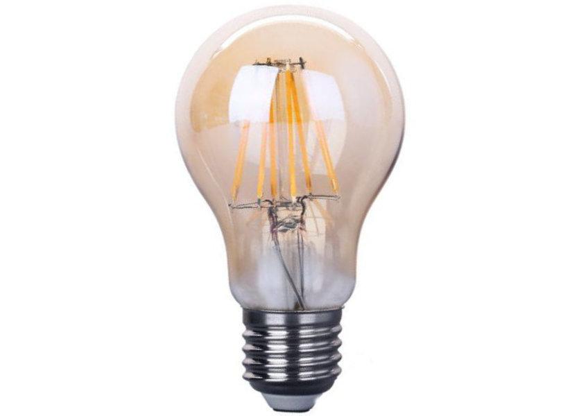 Crius LED A60 E27 6W 827 Amber Dimbaar