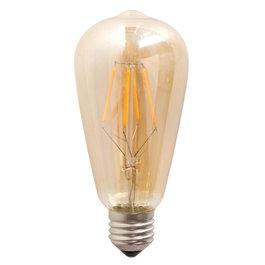 Crius Crius LED ST64 E27 6W 827 Amber Dimbaar