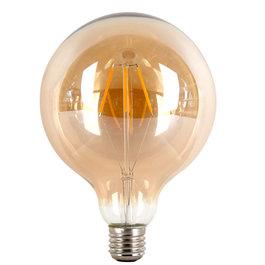 Crius Crius LED G95 Filament E27 4W 827 Amber Dimbaar