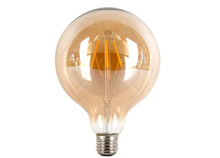 Crius LED G95 Filament E27 4W 827 Amber Dimbaar