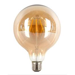 Crius Crius LED Filament G125 E27 4W 827 Amber Dimbaar