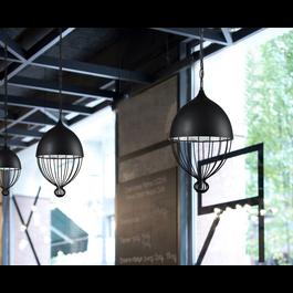 Scaldare Hanglamp Modern Zwart Rond Metaal - Scaldare Ranco