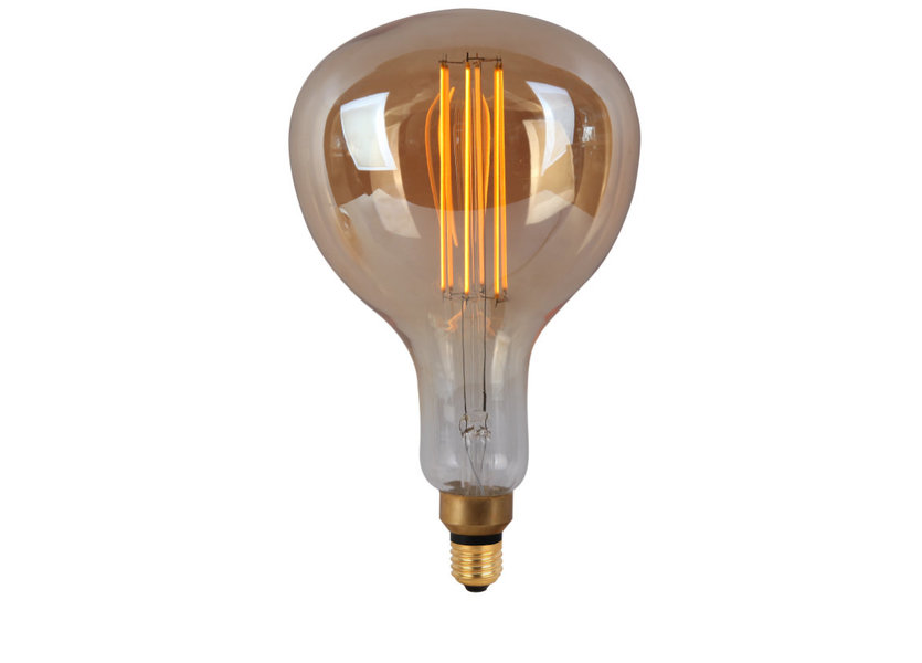 Crius LED R160 E27 8W 827 Amber Dimbaar