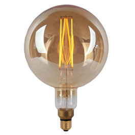 Crius Crius LED G200 E27 8W 827 Amber Dimbaar