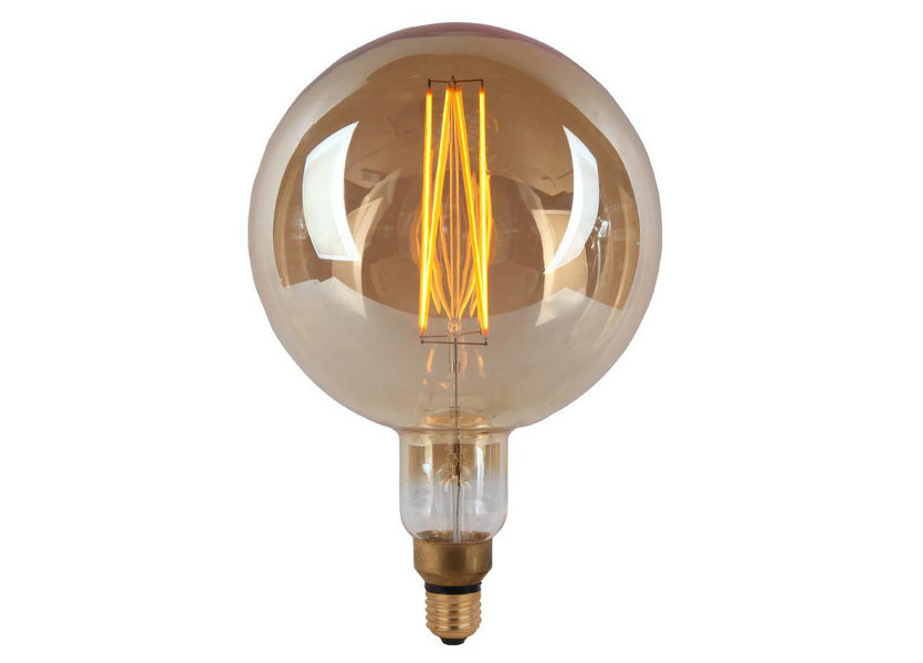 Crius LED Filament G200 E27 8W 827 Amber Dimbaar