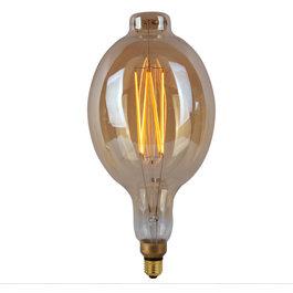 Crius Crius LED Filament BT180 E27 8W 827 Amber Dimbaar