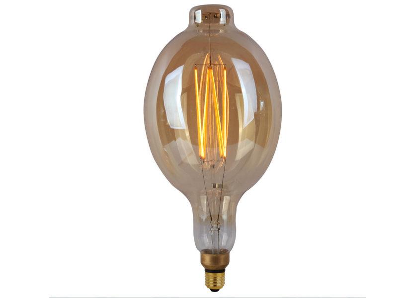 Crius LED BT180 E27 8W 827 Amber Dimbaar