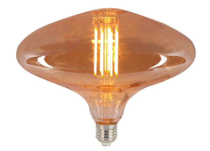 Crius LED FDL 200 E27 8W 827 Amber Dimbaar