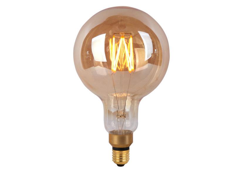 Crius LED Filament G200-8 E27 8W Amber Dimbaar