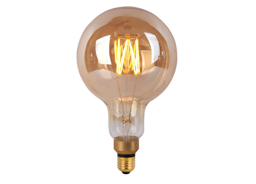 Crius LED G200-8 E27 8W Amber Dimbaar