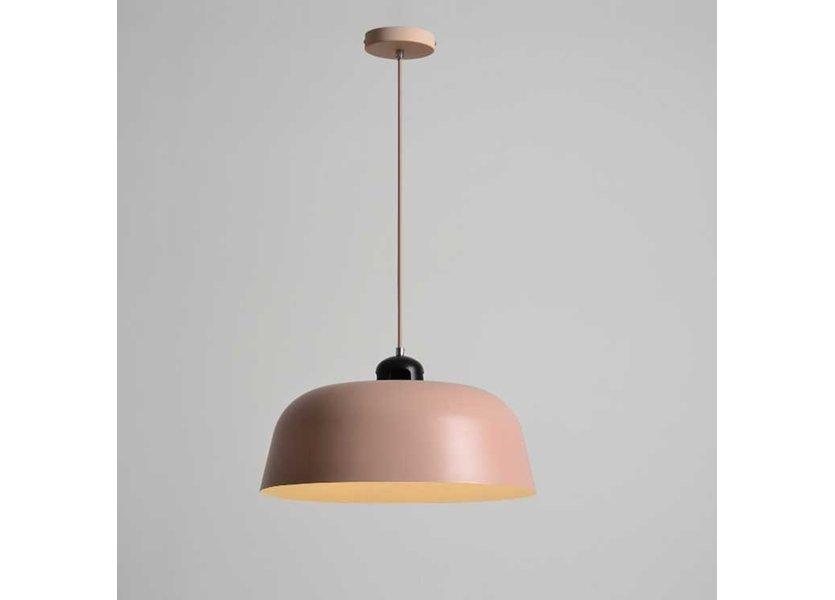 Hanglamp Modern Champagne Rond Aluminium - Valott Saara