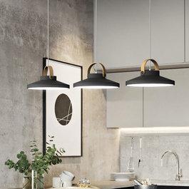 Scaldare Hanglamp LED Modern Zwart Rond Middel 31 cm - Scaldare Grado