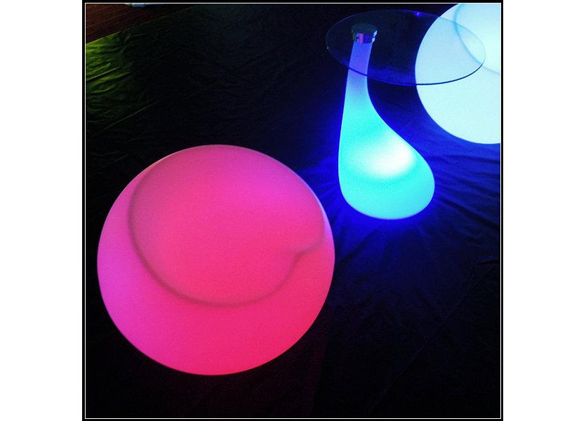 LED Stoel RGB Oplaadbaar + Afstandsbediening - Funnylights Cubone