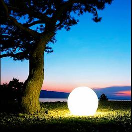 Funnylights Oplaadbare Bol 40 cm LED RGB incl.  Afstandsbediening - Funnylights Venonat Tuinlamp