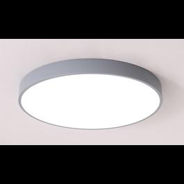 Valott LED Plafondlamp Modern Grijs Metaal 50 cm met ingebouwde LED - Valott Hella Plafonnière