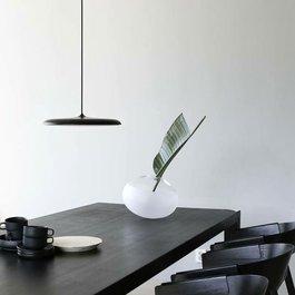 Scaldare Hanglamp LED Design Zwart Rond 30 cm - Scaldare Albi