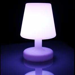 Funnylights LED RGB Tafellamp 26 cm Oplaadbaar + Afstandsbediening - Funnylights Paras