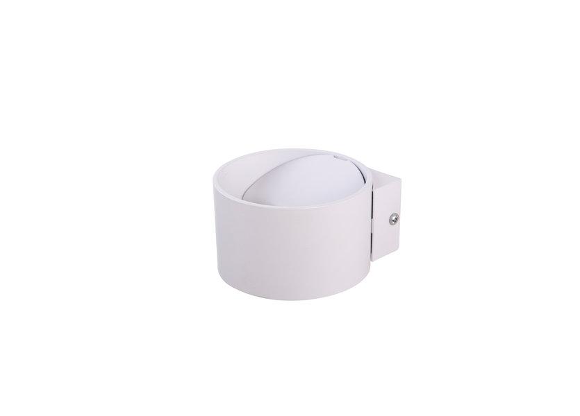 Wandlamp LED Design Wit Rond - Scaldare Isola
