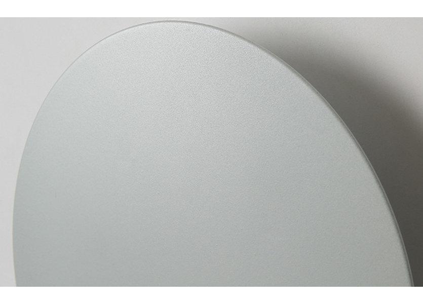 Wandlamp LED Design Wit Rond Aluminium 23 cm - Scaldare Erba