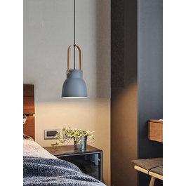 Valott Hanglamp Modern Grijs Aluminium met Hout - Valott Suvi