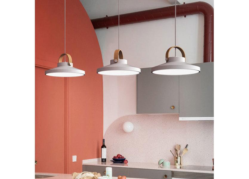 Hanglamp LED Modern Wit Rond Klein 24 cm - Scaldare Grado