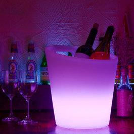 Funnylights LED IJsemmer / Wijnkoeler RGB Oplaadbaar + Afstandsbediening - Funnylights Krabby