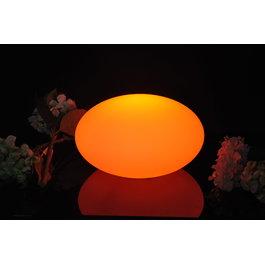 Funnylights Oplaadbare Steen 32 cm LED RGB incl.  Afstandsbediening - Funnylights Geodude Tuinlamp