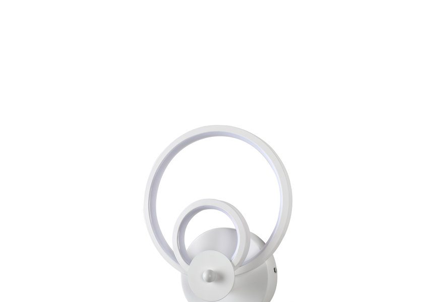 Wandlamp LED Design Wit Rond - Scaldare Gemonio