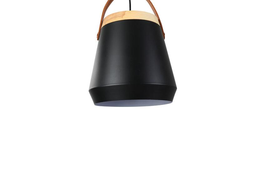 Hanglamp Zwart Metaal - Scaldare Garda