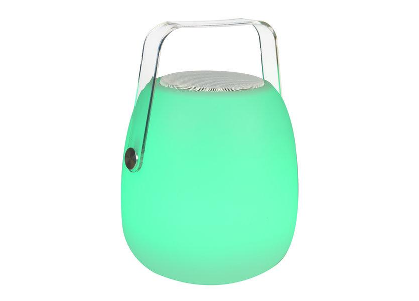 Tafellamp LED met Speaker + Bluetooth Oplaadbaar + Afstandsbediening  - Funnylights Seel