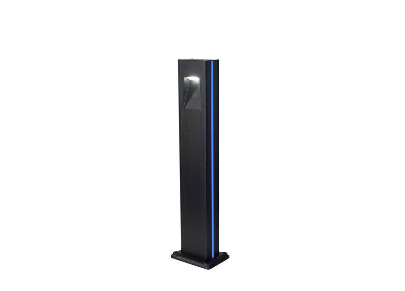 Design Sokkellamp Buiten LED 80 cm Blauw Licht - Gardenleds Cardo Staande buitenlamp
