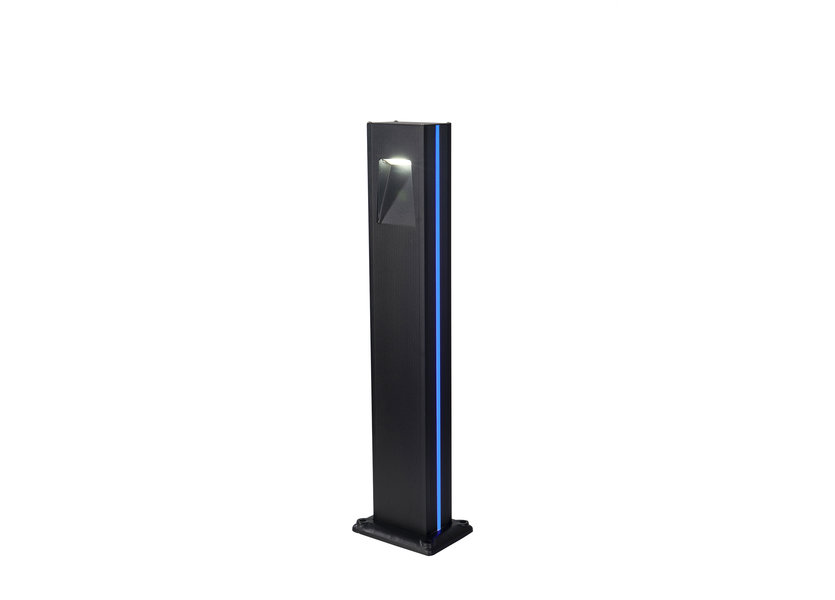 Sokkellamp Buiten LED 80 cm Blauw Licht - Gardenleds Cardo