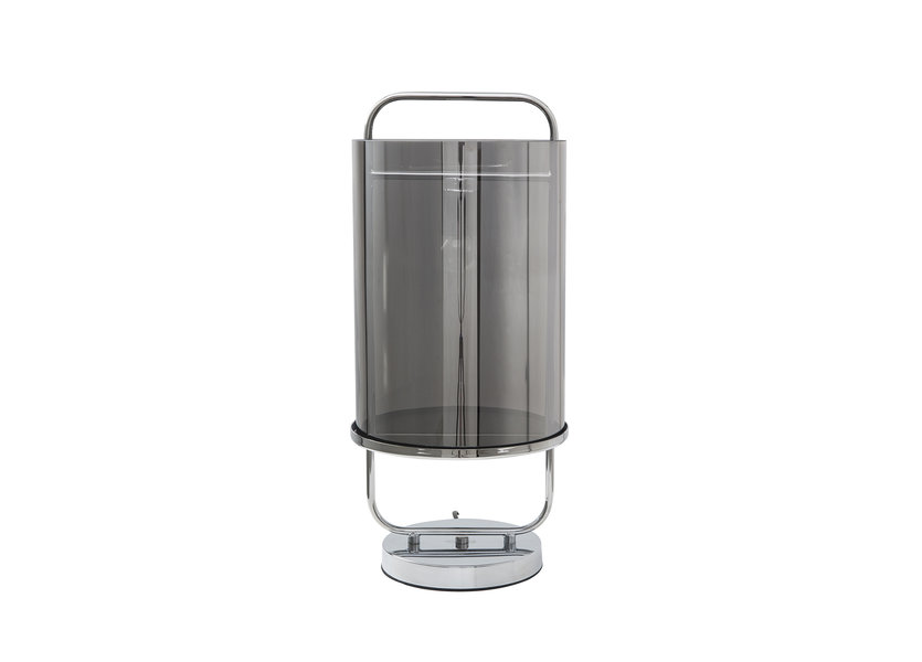 Tafellamp Design Chrome Rond IJzer - Scaldare Leni