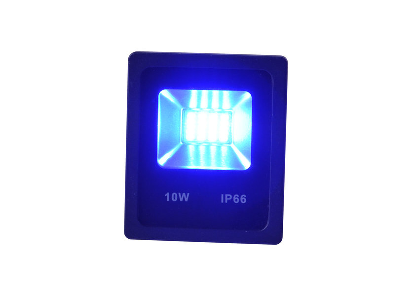 Blauwe LED Bouwlamp 10 Watt - IP66 - Crius