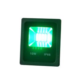 Crius LED Bouwlamp 10 Watt Groen Licht IP65 - Crius