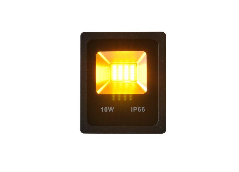 Gele LED Bouwlamp 10 Watt - IP66 - Crius